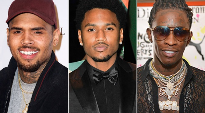 New Music : Chris Brown – 'Dat Night' feat Trey Songz & Young Thug