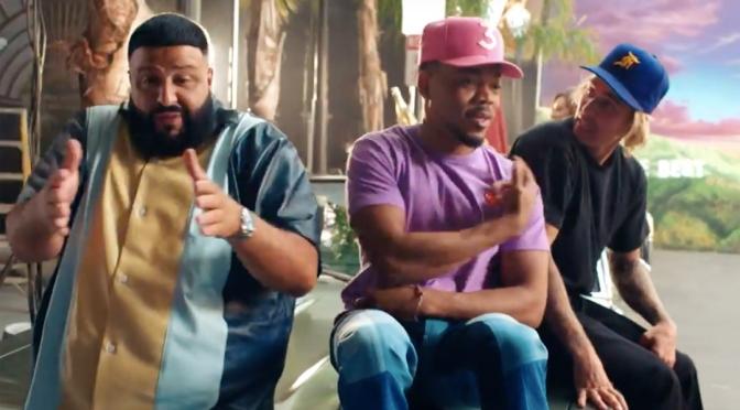 Vidéo : DJ Khaled – No Brainer ft. Justin Bieber, Chance the Rapper & Quavo