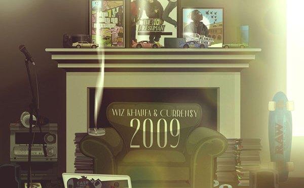 Album : Wiz Khalifa & Curren$y – 2009