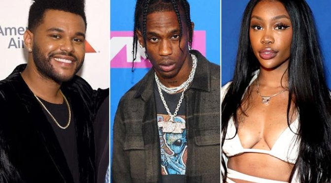 Music : SZA,The Weeknd & Travis Scott – Power Is Power